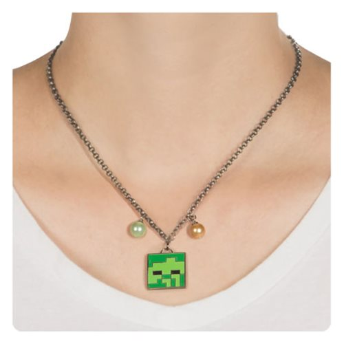 Minecraft Zombie Necklace