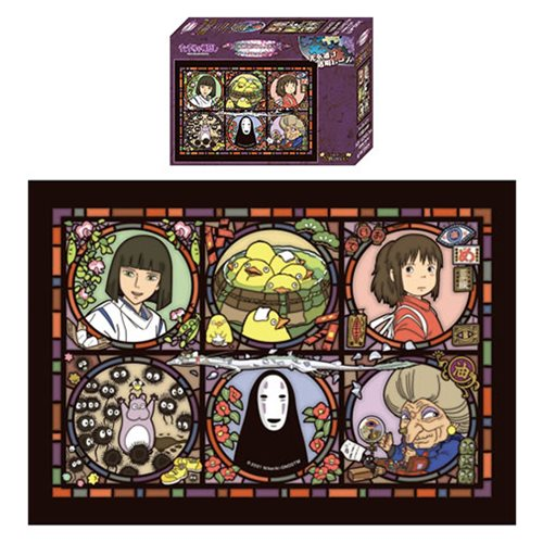 Spirited Away No Face Artcrystal Puzzle