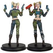 DC Injustice Harley Quinn Green Costume Deluxe Statue - Previews Exclusive