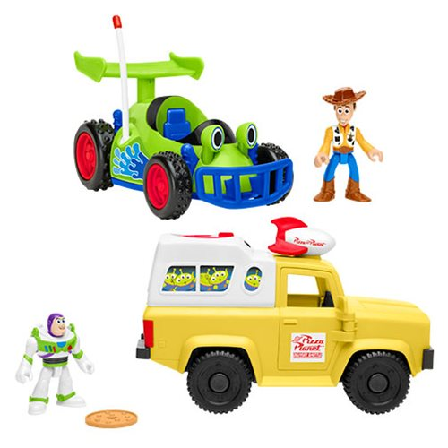 Toy Story Imaginext Vehicle with Action Figure Case
