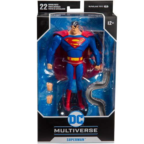 DC Animated Wave 1 Superman: The Animated Series 7-Inch Action Figure