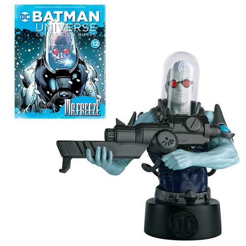 Batman Universe Batman: The Animated Series Mr. Freeze Bust with Collector Magazine #12
