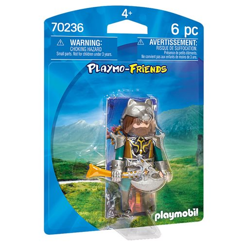 Playmobil 70236 Playmo-Friends Wolf Warrior Action Figure