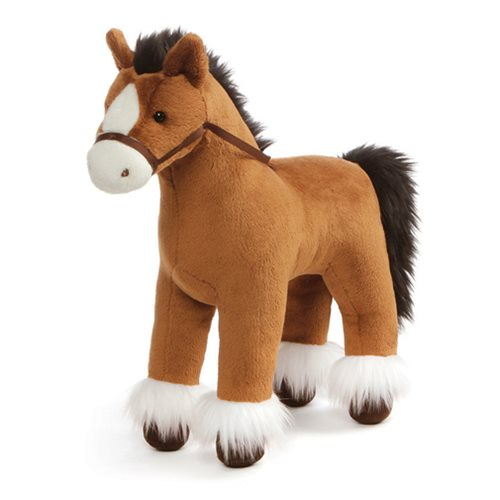 Dakota Clydesdale Horse Brown 15-Inch Plush