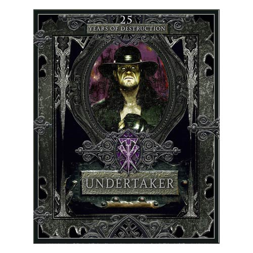 WWE Undertaker 25 Years of Destruction Hardcover Book