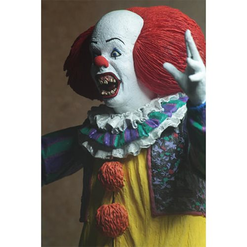 IT Ultimate Pennywise 1990 Version 2 7-Inch Scale Action Figure