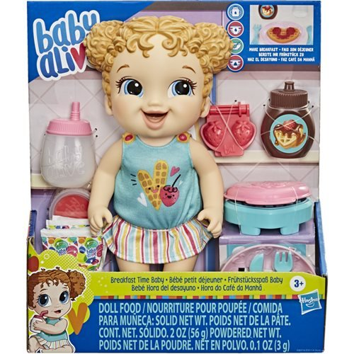 Baby Alive Breakfast Time Baby Blonde Hair Doll