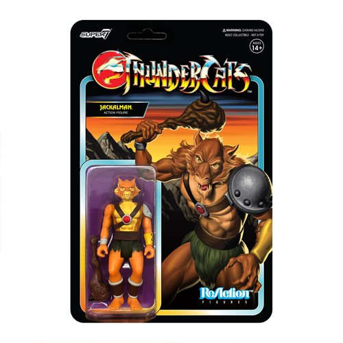ThunderCats Jackalman 3 3/4-Inch ReAction Figure