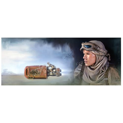 Star Wars: The Force Awakens The Scavenger by Brian Rood Canvas Giclee Art Print