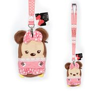 Minnie Mouse Pink Deluxe Lanyard with Card Holder