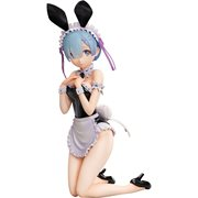 Re:Zero Starting Life in Another World Rem Bare Leg Bunny Ver. B-Style 1:4 Scale Statue