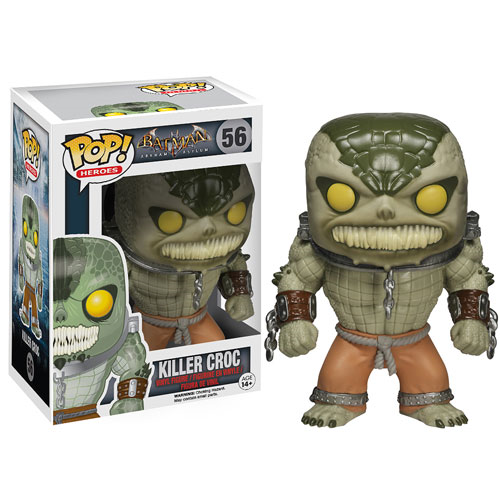 Batman Arkham Asylum Killer Croc Pop! Vinyl Figure
