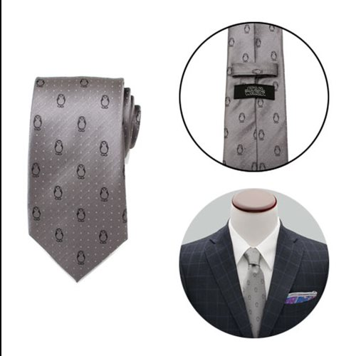 Star Wars: The Last Jedi Porg Dot Mens Tie