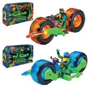 Teenage Mutant Ninja Turtles Motorcycle with Figure Case