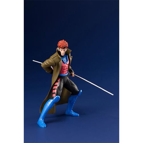 Marvel Universe X-Men 1992 Gambit and Rogue 2-Pack ARTFX+ Statues