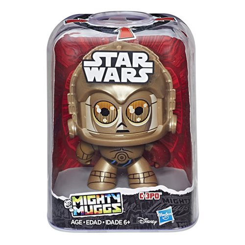 Star Wars Mighty Muggs C-3PO Action Figure