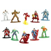 DC Comics Nano Metalfigs Die-Cast Mini-Figures 5-Pack Set