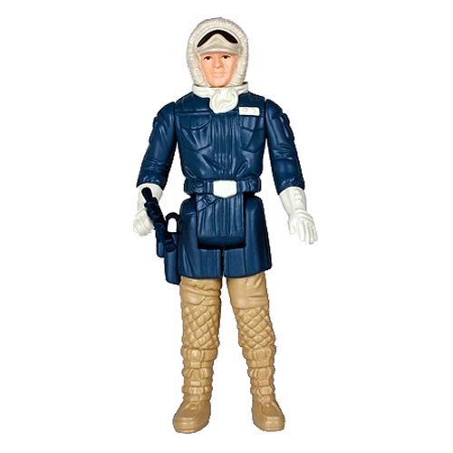 Star Wars The Empire Strikes Back Han Solo Hoth Jumbo Kenner Figure