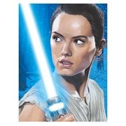 Star Wars: The Force Awakens Reluctant Warrior by Randy Martinez Canvas Giclee Art Print