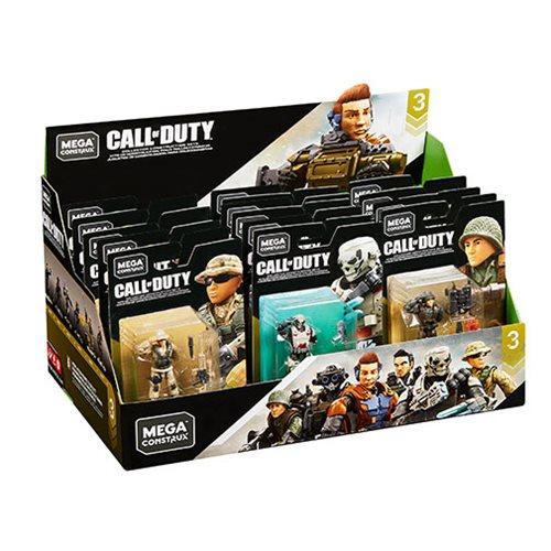 Mega Construx Call Of Duty Specialists Mini Figure Case Entertainment Earth