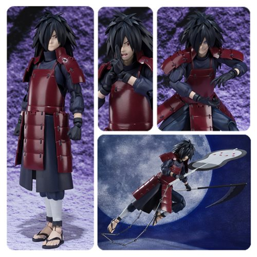 naruto madara uchiha sh figuarts action figure entertainment earth