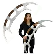 Star Trek: TNG Klingon Bat'leth Weapon Foam Prop Replica