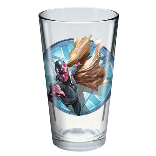Captain America: Civil War Vision Toon Tumbler Pint Glass