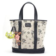 Toy Story Print Tote Purse