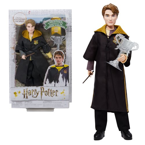 Harry Potter and The Goblet of Fire Triwizard Cedric Diggory Doll