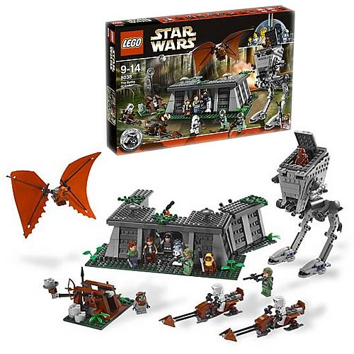 LEGO 8038 Star Wars Endor Battle Playset