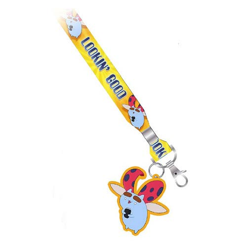 Bravest Warriors Lookin' Good Lanyard Key Chain