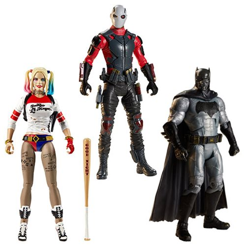 DC Multiverse Suicide Squad 6-Inch Action Figure Wave 1 Case