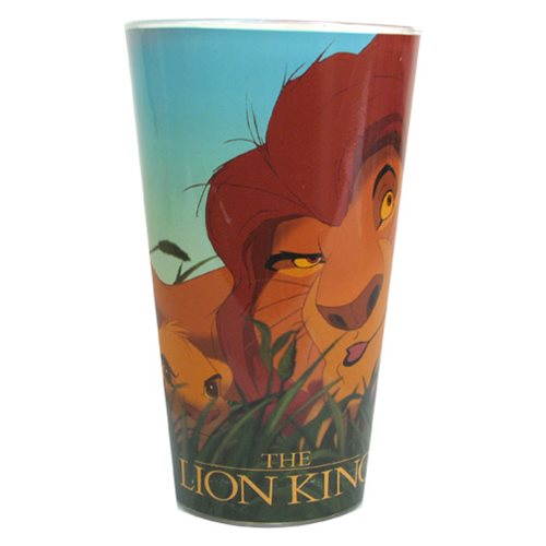 Lion King Mufasa and Simba 16 oz. Pint Glass