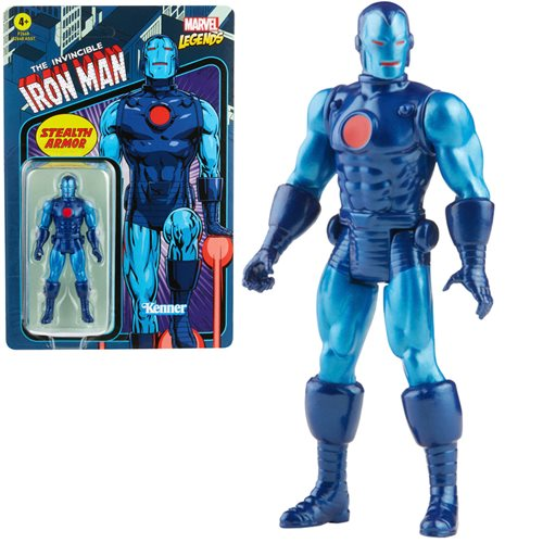 Marvel Legends Retro Stealth Iron Man Action Figure