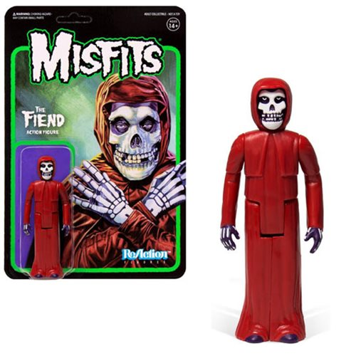 The Misfits Red Fiend 3 3/4-Inch ReAction Figure