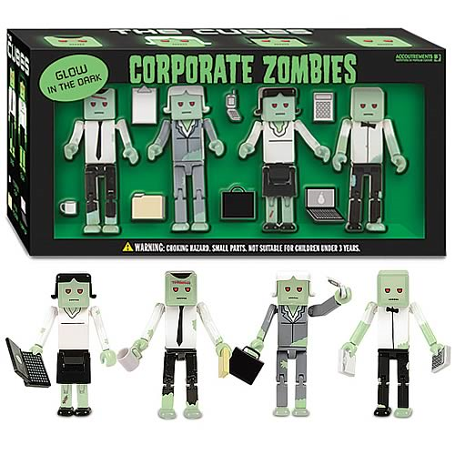 The Cubes Corporate Zombies Gift Set