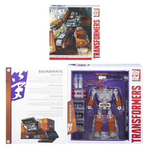 TRANSFORMERS OPTIMUS PRIME  YEAR OF THE GOAT  PLATINUM EDITION  MINT NEW
