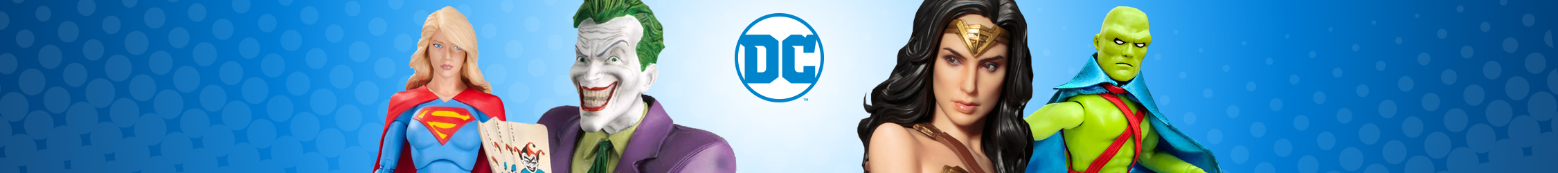 DC Comics Action Figures, Toys, Statues, & Collectibles