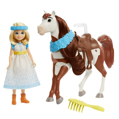 Spirit Untamed Festival Doll and Horse Case of 4