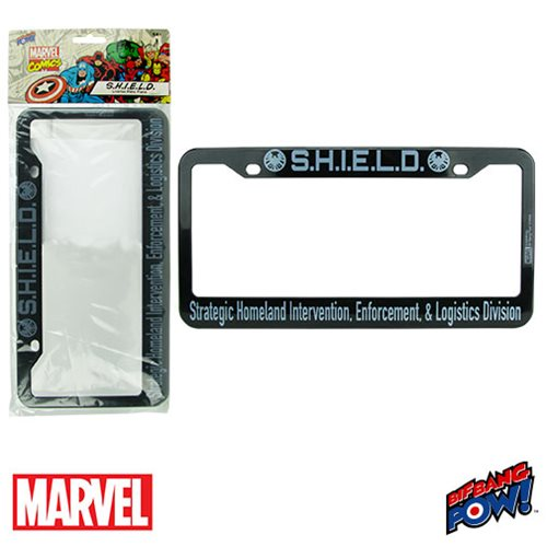 S.H.I.E.L.D. License Plate Frame - Entertainment Earth