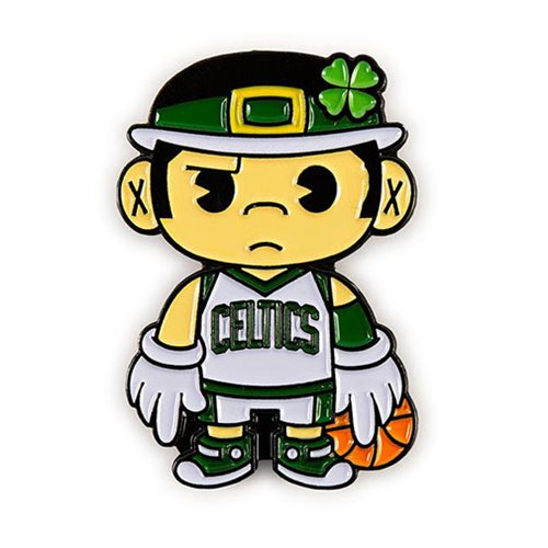 NBA Boston Celtics Lucky Mascot Enamel Pin