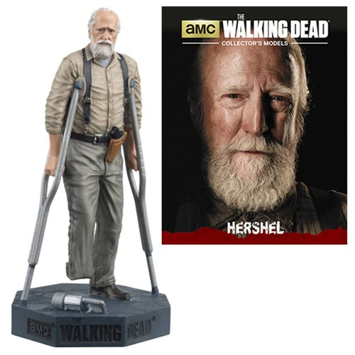 The Walking Dead Hershel Figure with Collector Magazine #15