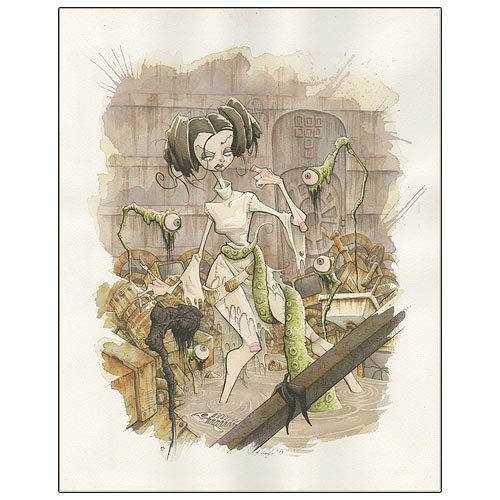 Star Wars Princess Leia All Eyes On You Canvas Giclee Print