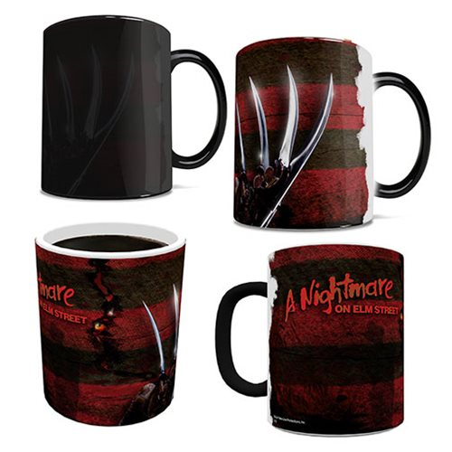 Nightmare on Elm Street Freddy Glove and Shirt Morphing Mug