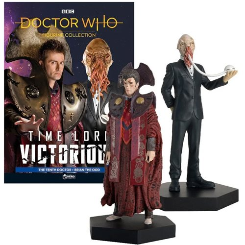 Doctor Who Collection Timelords Victorious Set #4 Time Lord Victorious and Brian the Ood Figures