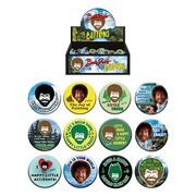 Bob Ross Button Display Case