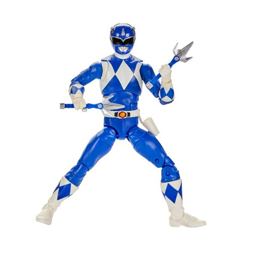 Power Rangers Lightning Collection Mighty Morphin Blue Ranger 6-Inch Action Figure