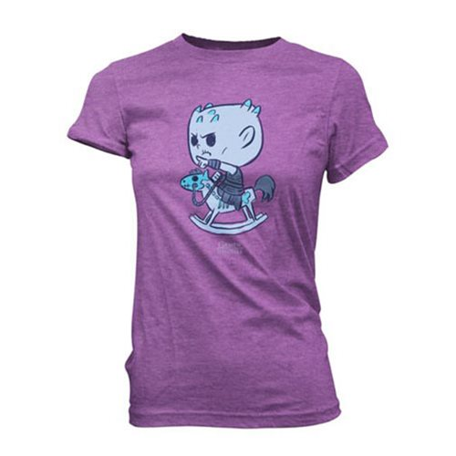Game of Thrones Night King Horsey Super Cute Juniors T-Shirt