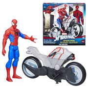 Spider-Man Titan Hero Series Action Figure with Spider Cycle Vehicle