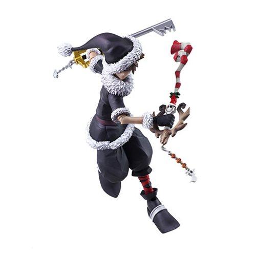 Kingdom Hearts Christmas.Kingdom Hearts Ii Bring Arts Christmas Town Sora Action Figure